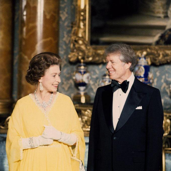 Những cuộc gặp giữa Nữ hoàng Elizabeth II và tổng thống Mỹ