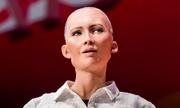 Robot Sophia dự đoán Pháp vô địch World Cup