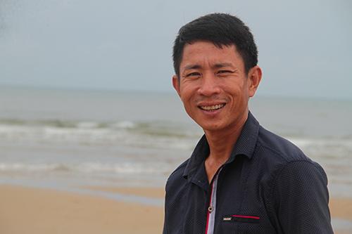 Anh Nguyễn Kim Bằng. Ảnh: Đức Hùng