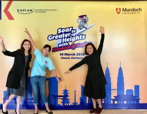 Hội thảo Kaplan Singapore - lộ trình thông minh và bài giải chi phí du học - 1