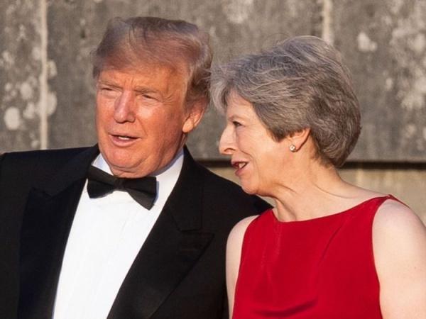 Tổng thống Mỹ và Thủ tướng Anh tại London.