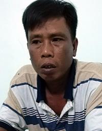 Nguyễn Tấn Phát tại cơ quan điều tra, vẫn phủ nhận hành vi của mình. Ảnh: Vĩnh Nam