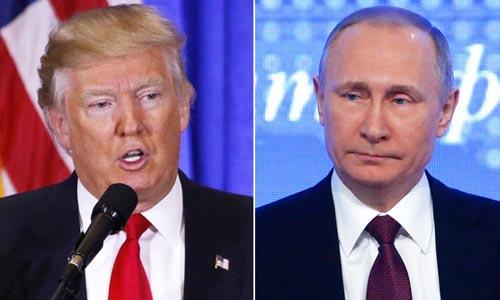 Tổng thống Mỹ Donald Trump (trái) và Tổng thống Nga Putin sẽ gặp nhau vào ngày 16/7 tại Phần Lan. Ảnh: Reuters.