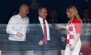Putin xem trận chung kết World Cup giữa Pháp và Croatia