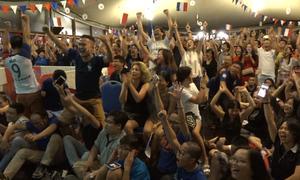 1.000 người quy tụ tại đại sứ quán Pháp nhảy múa mừng vô địch World Cup