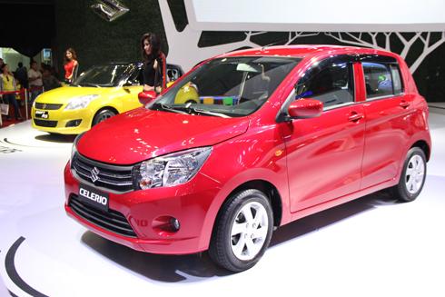 Suzuki Celerio bản số sàn đã có mặt tại Việt Nam, chờ ngày ra mắt.