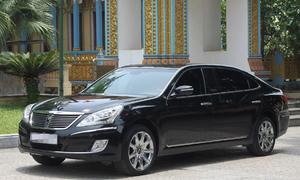 Hàng hiếm Hyundai Equus Limousine 2010 rao bán gần 1,4 tỷ đồng