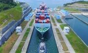 Dự án cải tạo giúp kênh đào Panama đón siêu tàu container