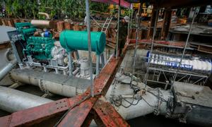 Siêu máy bơm chống ngập được đề xuất giá thuê hơn 170 tỷ đồng