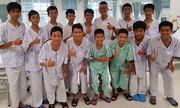 Đội bóng nhí Thái Lan mắc kẹt đào hố hàng ngày để tìm lối thoát