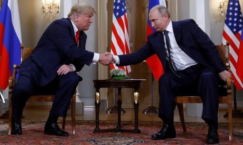 Putin bàn về quan hệ song phương, tình hình Triều Tiên trong cuộc gặp Trump