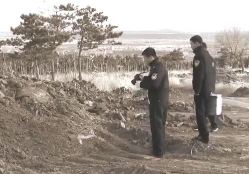 Vị trí tìm thấy thi thể Tiểu Mai.
