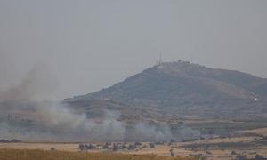 Quân đội Syria chiếm quả đồi chiến lược án ngữ biên giới Israel