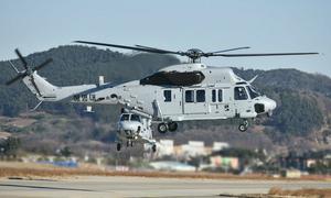 Trực thăng quân sự Hàn Quốc lao xuống đất, 5 người thiệt mạng