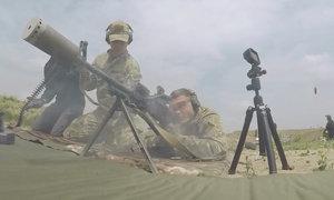 Nòng giảm thanh súng máy Nga nóng chảy sau 200 phát đạn
