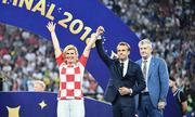 Màn trình diễn tại World Cup của nữ Tổng thống Croatia