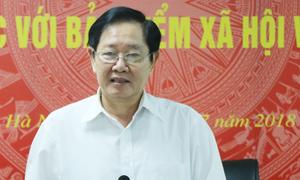 Bộ trưởng Nội vụ: 'Việc sáp nhập sở, ngành nên chờ nghị định'