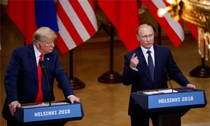 Một loạt nghị sĩ Mỹ chỉ trích Trump 'hèn nhát' trước Putin