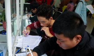 Nhiều đại học ở TP HCM lấy ngưỡng xét tuyển là 15