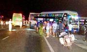 Ba ôtô khách đâm liên hoàn, hai người tử vong