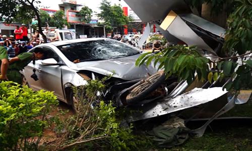 Tài xế ôtô say rượu tông chết hai nữ sinh bị bắt