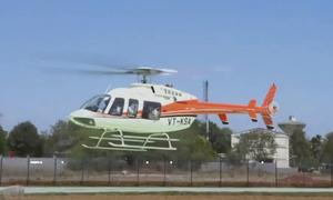 Dân thành phố Ấn Độ đi taxi trực thăng để tránh tắc đường