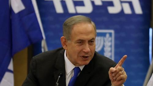 Thủ tướng IsraelBenjamin Netanyahu. Ảnh:AFP.