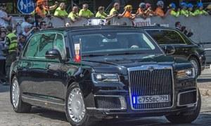 The Beast và Cortege - hai xe 'quái thú' phục vụ Trump và Putin
