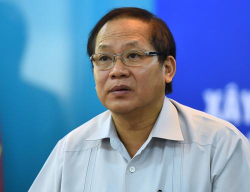 Bộ trưởng Thông tin Truyền thông Trương Minh Tuấn. Ảnh: Giang Huy.