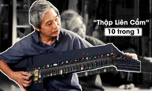 Người đàn ông sáng chế cây đàn 10 trong một