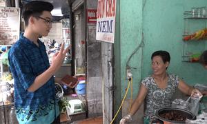 Quán bún chả của hai vợ chồng câm ở Hà Nội