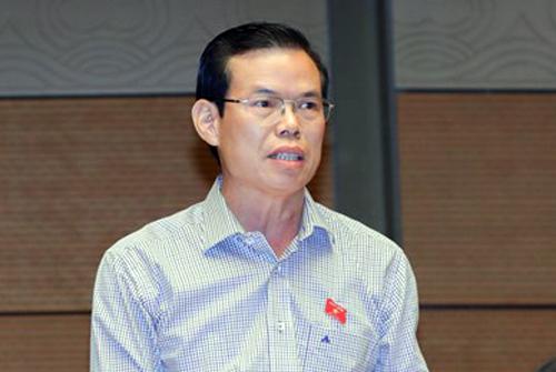 Bí thư Tỉnh ủy Hà Giang Triệu Tài Vinh. Ảnh: QH.