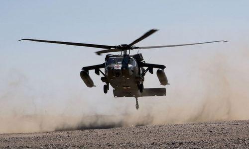 Trực thăng UH-60 Mỹ tham gia tập trận hồi năm 2016. Ảnh: US Army.