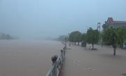 Thị trấn miền núi ở Quảng Ninh chìm trong biển nước