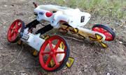 Robot tự thay đổi hình dạng để vượt nhiều địa hình
