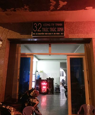 Nhà hàng Trúc Xinh. Ảnh: Quốc Thắng.