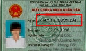 Những tên khai sinh 'độc lạ' nhất Việt Nam