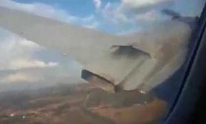 Khoảnh khắc máy bay Nam Phi rơi nhìn từ cabin