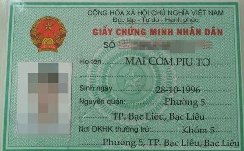 Tên Việt nhưng hiểu theo cách Tây.