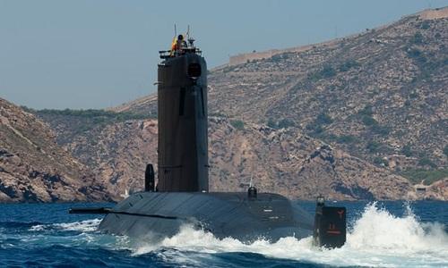 Một tàu ngầm S-80 Plus của hải quân Tây Ban Nha. Ảnh: Guardian.