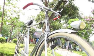 Xe đạp cổ giá 130 triệu đồng ở Hà Nội