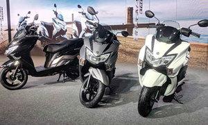 Suzuki Burgman Street giá gần 1.000 USD tại Ấn Độ