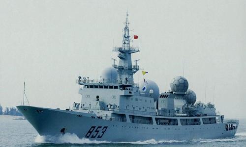 Một tàu trinh sát lớp Type-815 của hải quân Trung Quốc. Ảnh: Popular Mechanics.