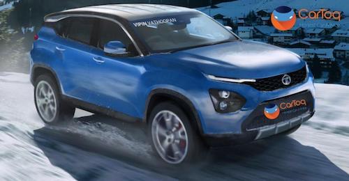 SUV đầu tiên của Tata ra mắt năm sau. Ảnh: Cartoq.