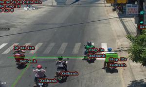 Camera nhận diện xe trên đường phố 'made in Việt Nam'