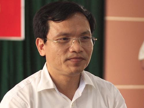 Cục trưởng Quản lý chất lượng (Bộ Giáo dục và Đào tạo) Mai Văn Trinh. Ảnh: Dương Tâm.