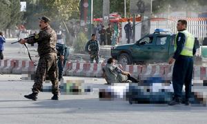 Đánh bom nhằm vào Phó tổng thống Afghanistan, 14 người chết