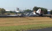 Vận tải cơ Mỹ lao xuống đất cháy rụi, 13 người sống sót