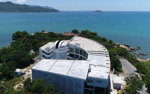 Đài thiên văn Nha Trang. Ảnh: VNSC.