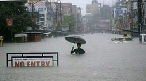 Sợ đường xa ướt mưa.